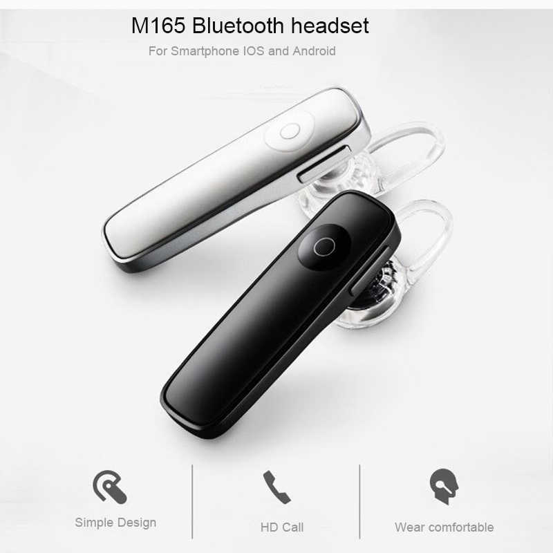 HCQWBING M165บลูทูธ4.1ชุดหูฟังเบาไร้สายหูฟังแฮนด์ฟรีหูหูฟังกีฬาเพลงหูฟังIOS A Ndroid