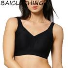 BAICLOTHING Full Coverage Women's Seamless Underwear Wireless Non-padded Unlined Bra Women's Lingerie 32 36 38 40 A B C D E F G