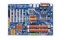 Оригинальный рабочего материнская плата для gigabyte GA-P43-ES3G DDR2 LGA 775 Gigabit Ethernet платы P43 P43-ES3G motherboar бесплатная доставка