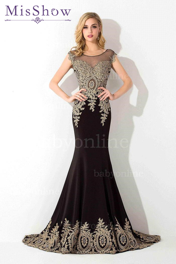 Sexy Floor Length Chiffon Mermaid Lace Evening Dress Luxury Beaded Crystals See Through Evening Gown Robe De Soiree Longue