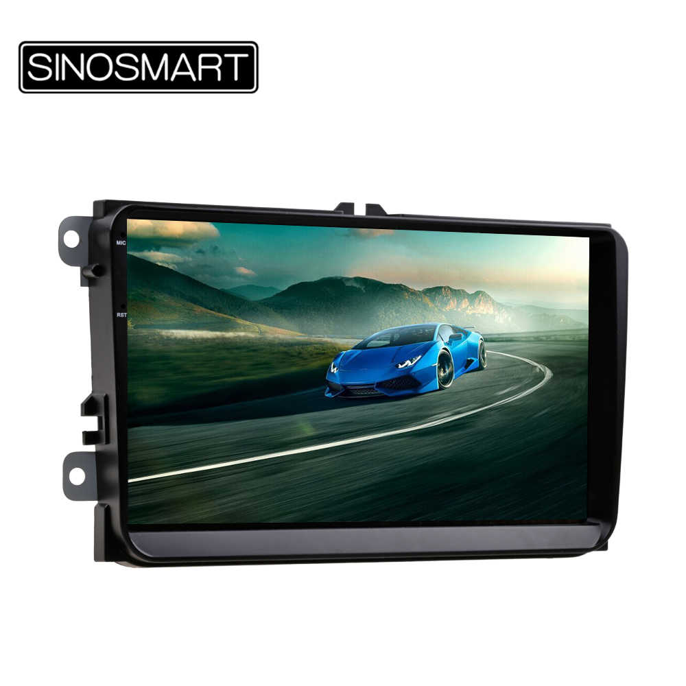 Sinosmart 1G/2G GPS Navigasi Mobil untuk Volkswagen Touran/Jetta/POLO/Golf Skoda Octavia /Fabia/LUAR BIASA/Cepat 32EQ/4G Opsional
