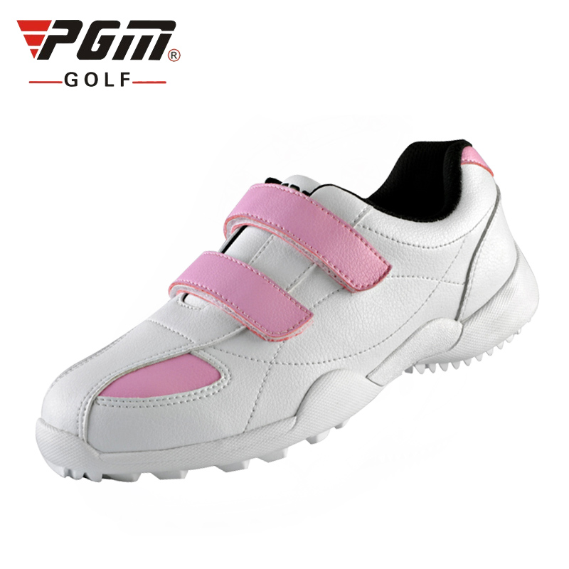 Girls Golf Shoes Breathable Mesh Outdoor Kids Sneakers Lights Brand Girl Sports Shoes AA20174