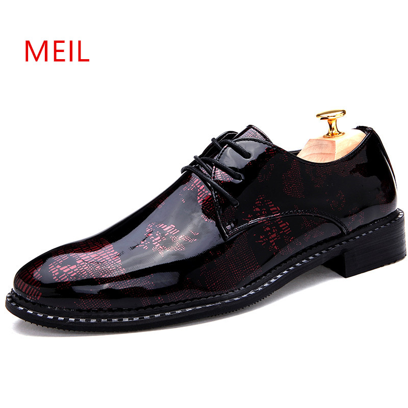 Men Shoes Leather Zapatos Calzado Hombre Vestir Schuhe Herren Schoenen Wedding Chaussures Hommes En Cuir Dress Formal Shoes