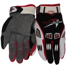 Мотоцикл перчатки кожа гонки Полный Finger мотоцикл перчатки gants moto мотокросс кожа мотоцикл guantes luvas
