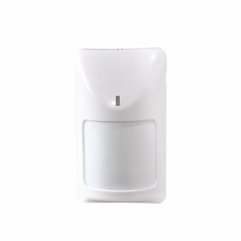 Wired Infrared Detector Indoor Wide Angle PIR Detector 720 Household Business Security Burglar Alarm Accessory