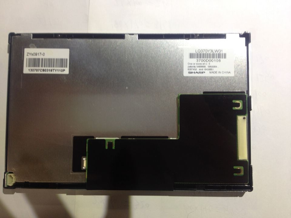 Original 7-inch LQ070Y3LW01 LCD screen industrial screen the original 7 inch lcd screen at070tn92 at070tn94 industrial touch screen