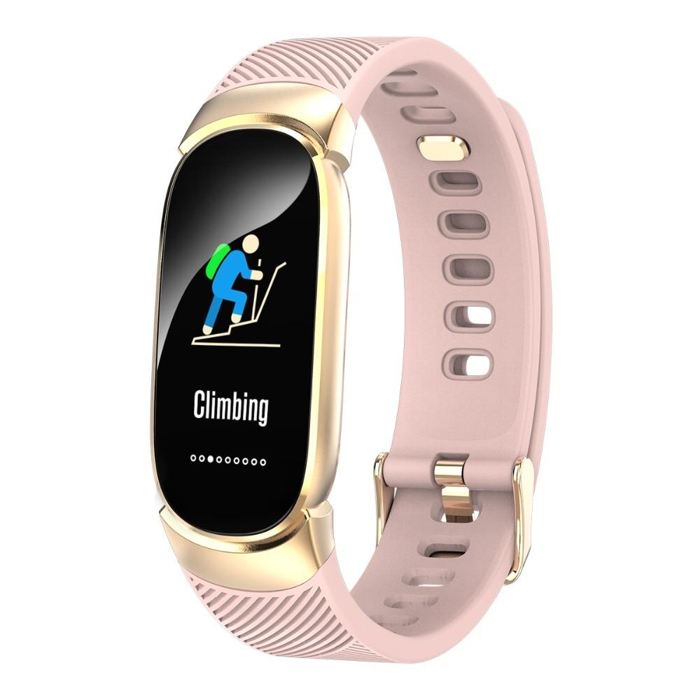 QW16 Waterproof Smart Bracelet Smart Band IP67 Heart Rate Fitness Tracker Smartwatch Remote Control Wristband Men Smart Watch meanit m5