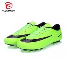 ALDOMOUR Fútbol sala fútbol botas zapatillas hombres Fútbol barato calzado zapatillas fútbol superfly original con botines