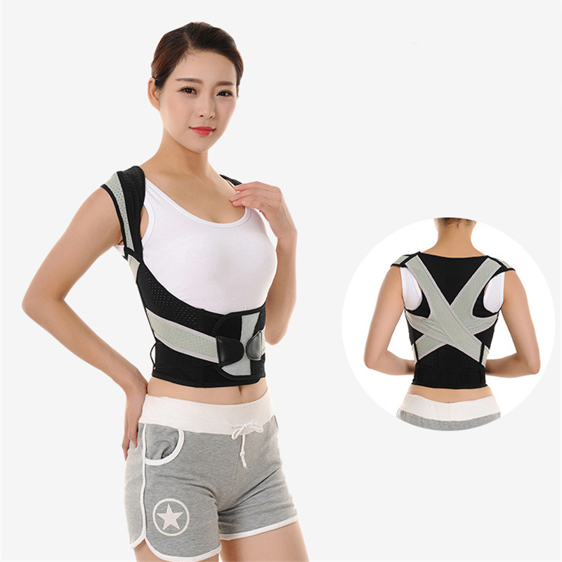 New Back Posture Correct <font><b>Humpback</b></font> Correction Back Brace Spine Orthosis Scoliosis Lumbar Support Spinal Curved Orthosis Fixation image