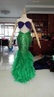 2016 The Little Mermaid Ariel Cosplay Costume