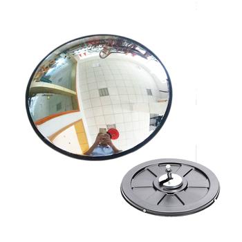 30cm szerokokątny bezpieczeństwo lustro drogowe zakrzywione do wewnątrz włamywacz bezpieczeństwo na zewnątrz bezpieczeństwo na drodze sygnalizacja świetlna wypukłe lustro tanie i dobre opinie 30cm Wide Angle Security Road Mirror