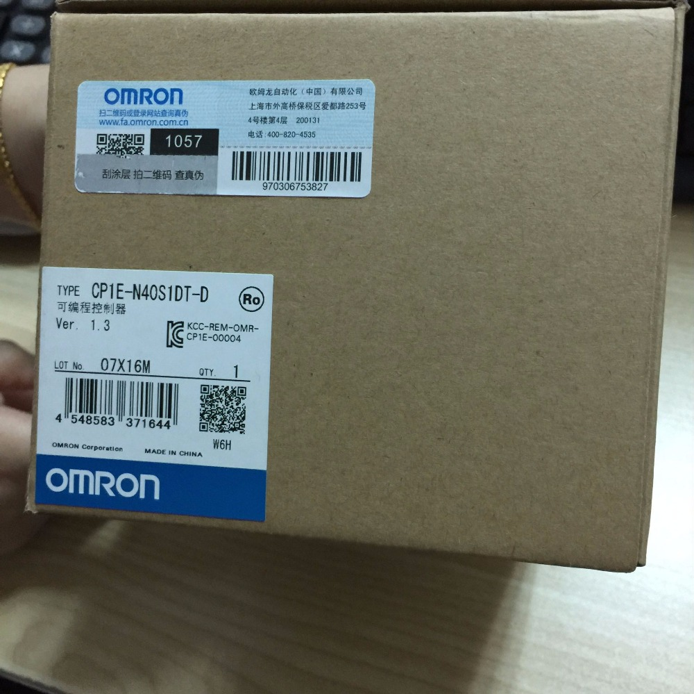 FREE SHIPPING 100% NEW and Original CP1E-N40S1DT-D PLC CONTROLLER SENSOR