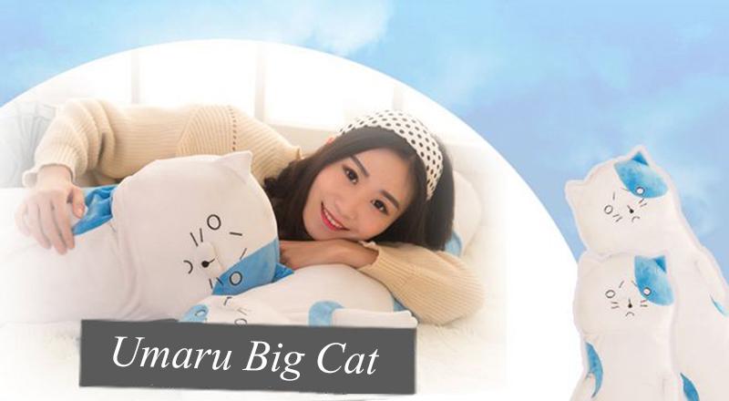 Himouto! Umaru-chan – Big Cat Dakimakura Pillow Cover Plush