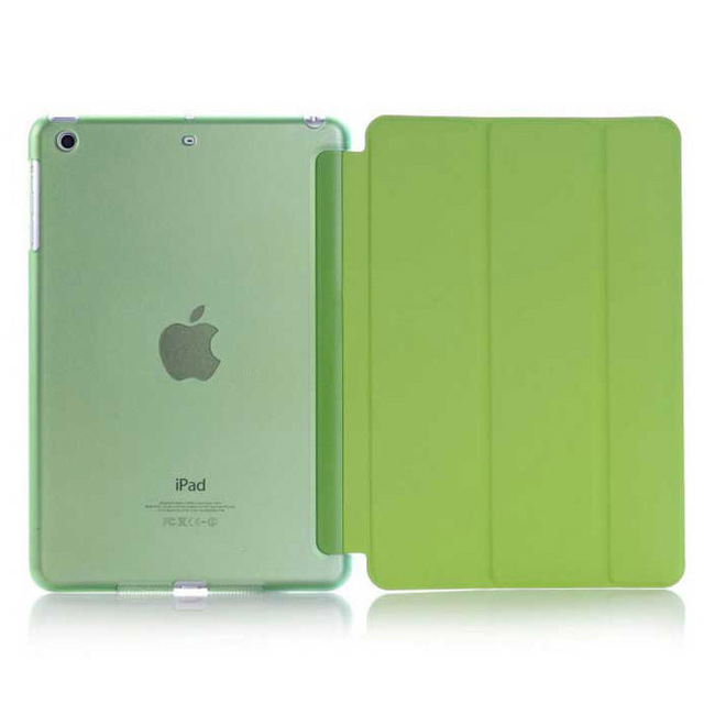 New for iPad Air iPad 5 Transparent Clear Smart Cover Case