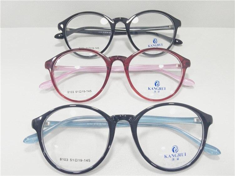 Nuevo Patrón de Tendencia de La Moda Gafas Tr Marco Pierna Luz ...