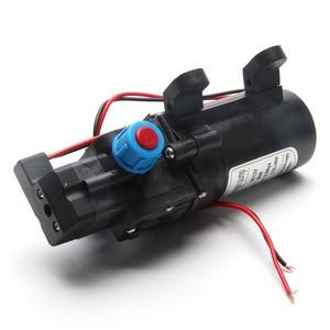 Image 4 - 5.5L/Min DC12V 80W 0142 Motor Hochdruck Membran Wasser Selbst Pumpe Drop Schiff