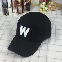 Cotton Embroidery Letter W Baseball Cap For Men Women Snapback Cap Hat Sports Caps Bone Outdoor