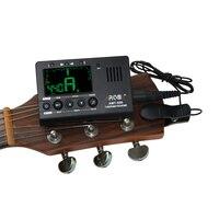 Aroma AMT-560 ACCORDEUR de Guitare Basse Tuner Électrique Tuner Métronome Intégré Mic Avec Ramassage Chromatique Violon Ukulélé