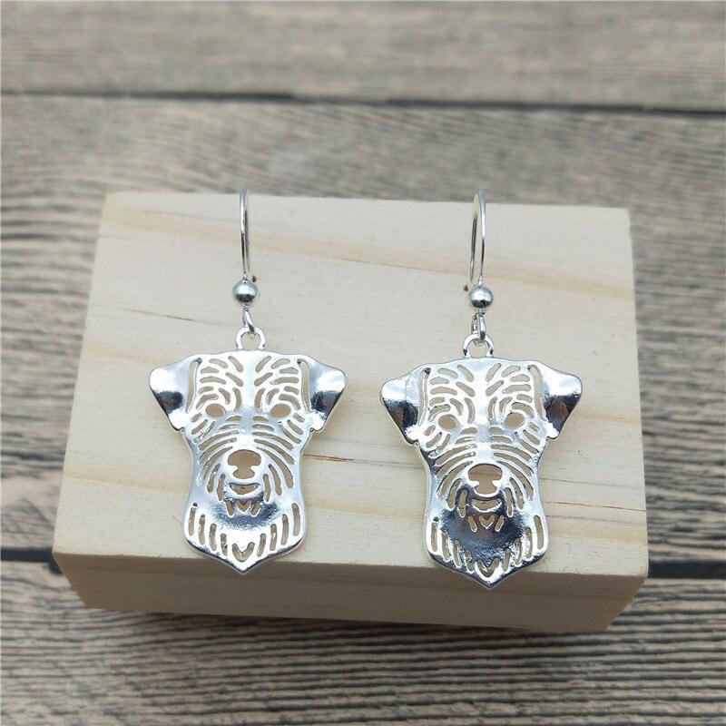 New Jack Russell Terrier Drop Earrings Trendy Style Jack Russell Terrier Dangle Earrings Fashion Pet Earrings Women Jewellery