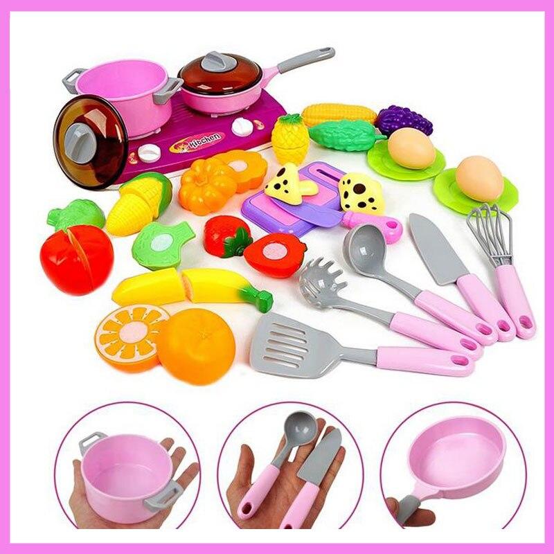 Muebles Accesorios de Cocina Juguetes Set Niños de Simulación de ...