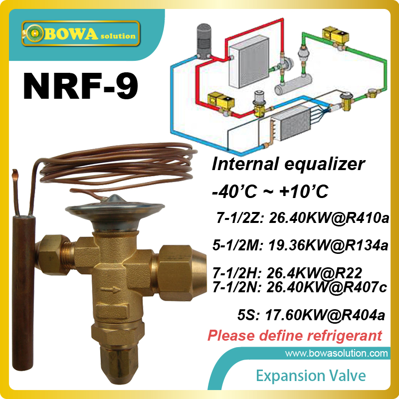 NRF-9 integrated TX valve working as device in steam engine valve gear that improves engine efficiency replace FUJIKOKI TEV nrf 6 thermal expansion valve tev or txv is preferred over other refrigeration metering devices and replace danfoss tg valves