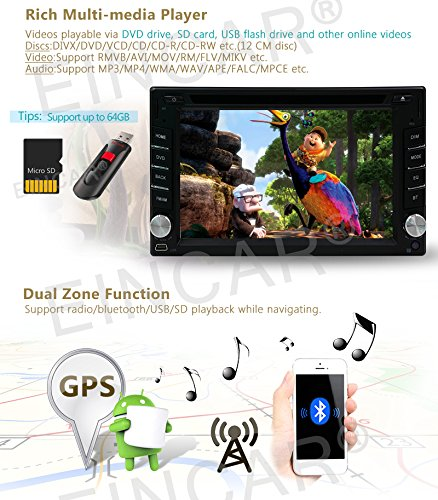 2 din android 6.0 2din cd New universal Car Radio Double Car dvd Player GPS Navigation In dash Car dvd PC Stereo video quad core