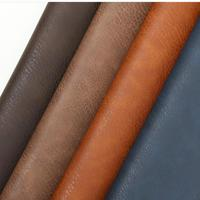 1 Meter Crazy Horse Faux Eco Leather Vinyl Fake Thick Pu Leather Black Material For Furniture Car Seat Golf Automotive Cloth