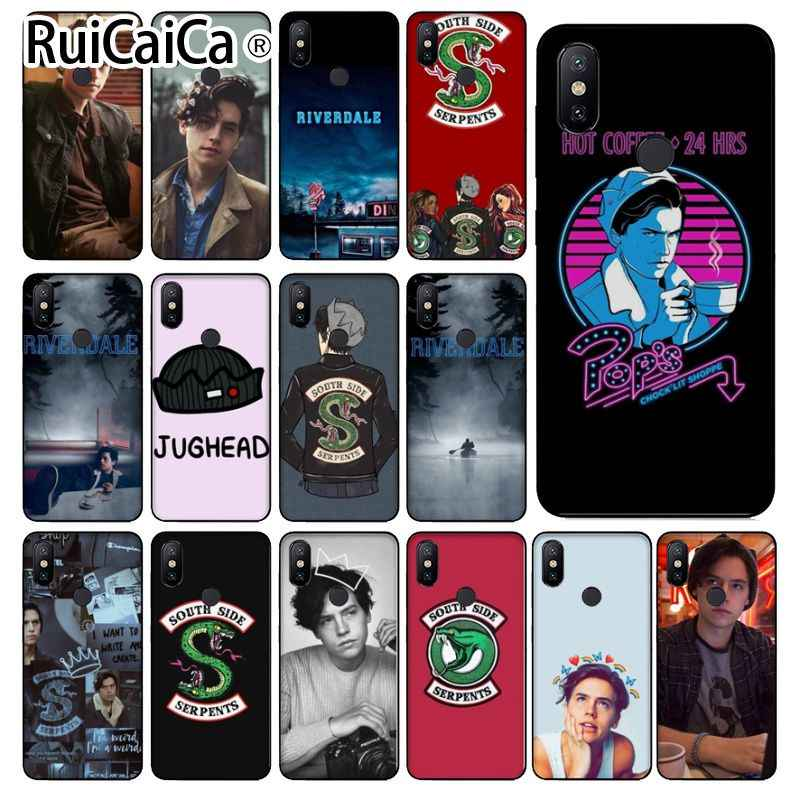 Ruicaica American TV Riverdale Custom Photo Soft Phone Case for Xiaomi MI MIX 2 2S 6 8 8SE Note 3 Redmi 5 plus
