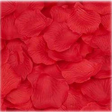High Quality 1000PC Silk Artificial Flower Rose Petals Valentine Decorations Wedding Party  21-22