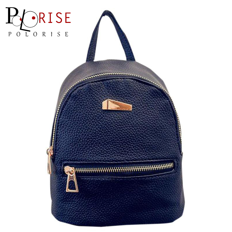 Women Backpack Space PU Leather Backpack Women Youth Backpacks for Teenage Girls School Bags Female Mini