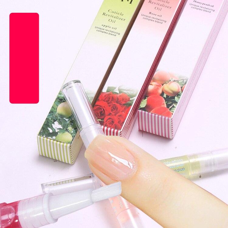 Keep Nail Polish Off Cuticles: ANGNYA Various Smells Nail Nutrition Oil Pen Nail