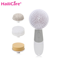 5 In1 Electric Facial Cleanser Skin Beauty Care Rotary Brush For Wash Face Spin Body Cleaning