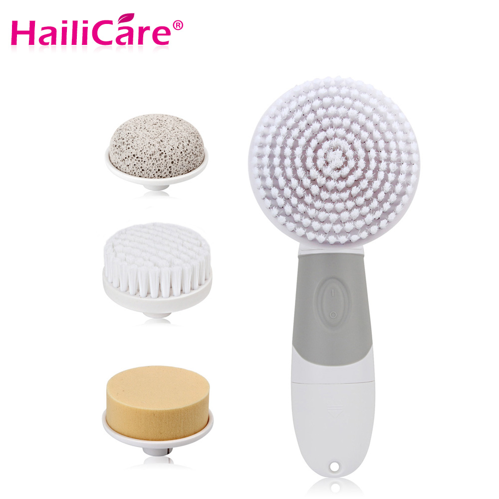 4 In 1 Electric Facial Cleanser Deep Cleansing Skin Care Blackhead Removal Washing Brush font b