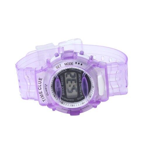 JINEN модные женские туфли классические цифровые часы силиконовой лентой светодиодный Спорт на открытом воздухе Повседневное студент Наручн