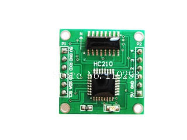 [[BELLA] module de boussole électronique de précision à 0.5 degrés module de boussole électronique/communication/adresse I2C peut être réglé-2 pièces/