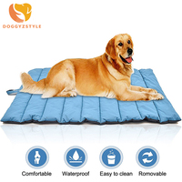 Bite Resistant Pet Bed Large Dog Coller Mat Pad Waterproof Outdoor Pet Dog Cushion Summer Winter Warm Blanket Not Sticky Hair