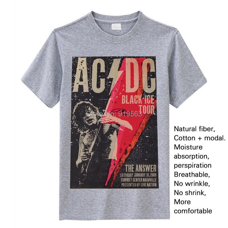 Rock n 'Roll no está contaminado con aire acondicionado AC / DC de - Ropa de hombre