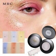 MRC 6 цветов хайлайтеры для макияжа пудра для лица Iluminator бронзатор палитра светящийся Набор Косметика для блеска