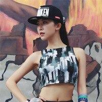 Chumoo Sexy Women Halter Yoga Bra Printing Sport Bras Push Up Shockproof Camo Vest Tank Tops