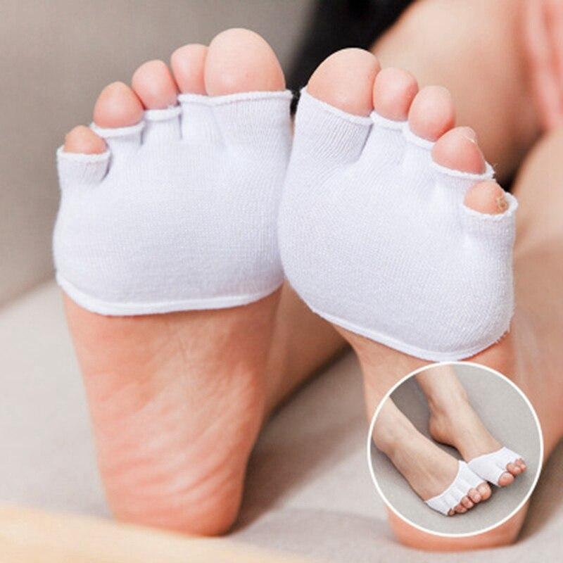1 para Super elastyczna ochraniacz na palce zapobiec palucha koślawego uraz stóp opiekuńczy antypoślizgowe Toe korektor narzędzia do pielęgnacji stóp