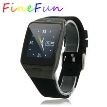 FineFun Smart Watch LG128 Touch Screen Smartwatch Support SIM Card Remote Control Waterproof GSM Watch Phone For IOS Android
