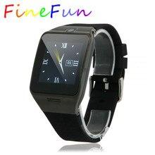 FineFunสมาร์ทนาฬิกาLG128หน้าจอสัมผัสS Mart W Atchสนับสนุนซิมการ์ดการควบคุมระยะไกลกันน้ำGSMนาฬิกาโทรศัพท์สำหรับIOS A Ndroid