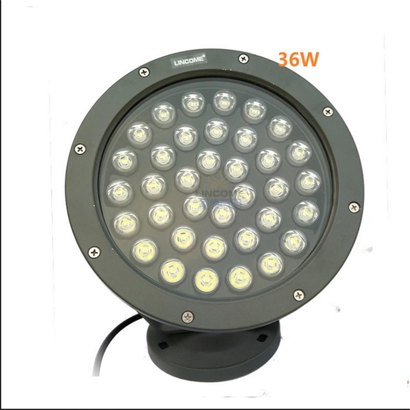 IP65 Outdoor led spot lamp for garden ,park ,trees ,afforest,landscape ,100-240V input 24W/36W high brightness flood light