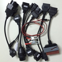 A Set Of Car Adaptor Cables For TCS CDP PRO PLUS 8 Cables For Cars Tcs