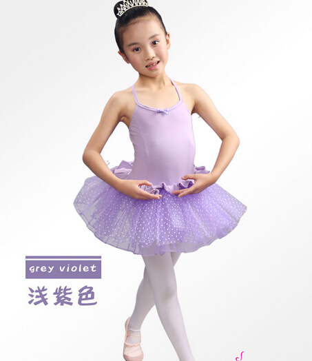 Free shipping 100-150CM pink purple black ballet tutu children dance Dance Costume Girls skirt Tutu stage performance dress