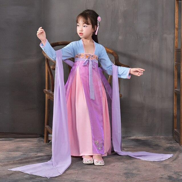 d24809a3c166 Aliexpress.com   Buy Girls Princess Folk Dance Costume for Stage ...