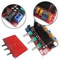 TPA3116D2 DC 12-24 В 3 канал сабвуфера Цифровой высокая эффективность Усилитель Мощности Плата чипы громкоговоритель поле L3FE