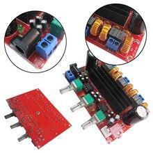 TPA3116D2 DC 12-24 V 3 canal de subwoofer Tablero Del Amplificador de Potencia Digital de alta eficiencia chips caja de altavoz L3FE