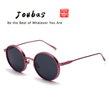 1211486f2a Joubas Round Metal Steampunk Sunglasses 2018 Womens Mens Ladies Classic Vintage  Sun Glasses Wide Frame Eyewear Brand Designer 29
