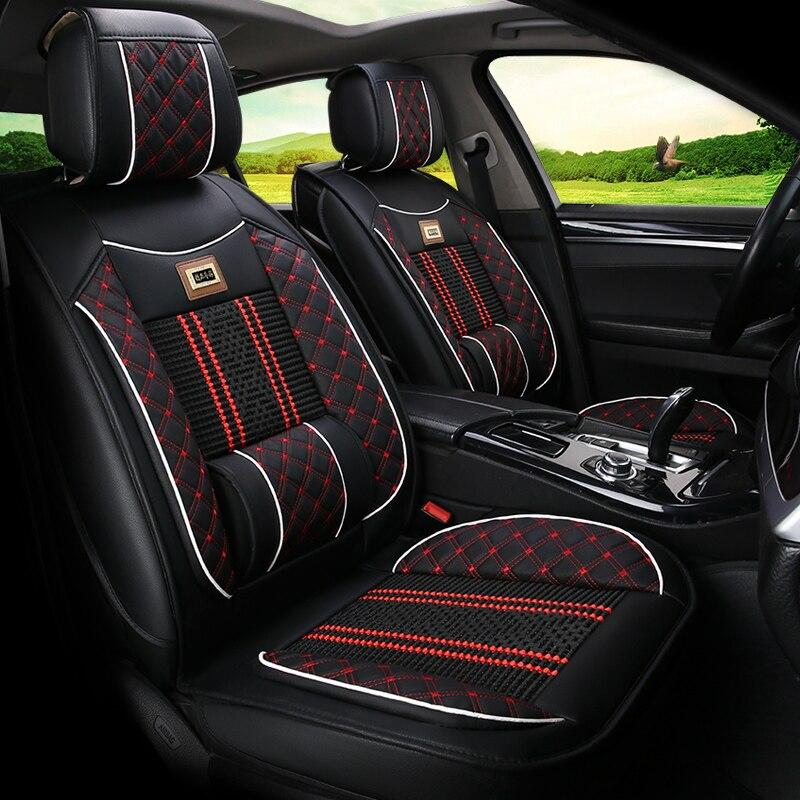 Housse de siège de voiture coussin universel pour Land Rover Discovery 3/4 freelander 2 gamme Sport Evoque style de voiture - 3